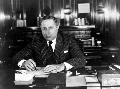 Сооснователь «Metro-Goldwyn-Mayer» (MGM) Луис Б. Майер