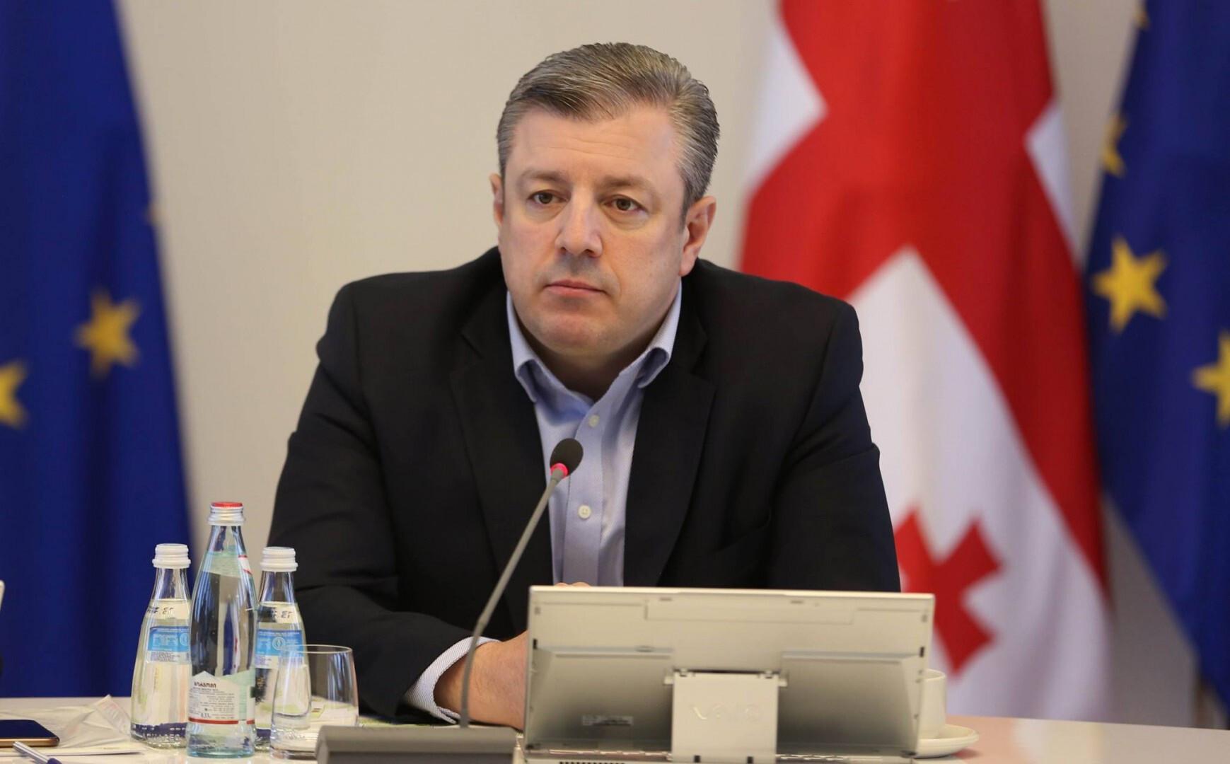 Премьер-министр Грузии ушёл в отставку после массовых протестов