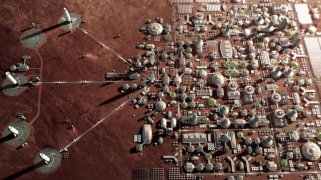 Бизнес и инновации - Илон Маск показал проект нового космического корабля для колонизации Марса