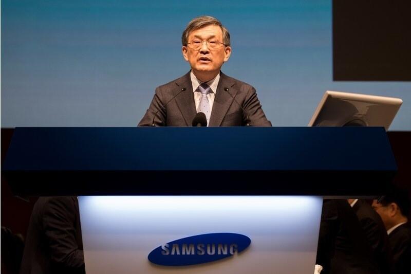 Гендиректор Samsung Electronics подал в отставку