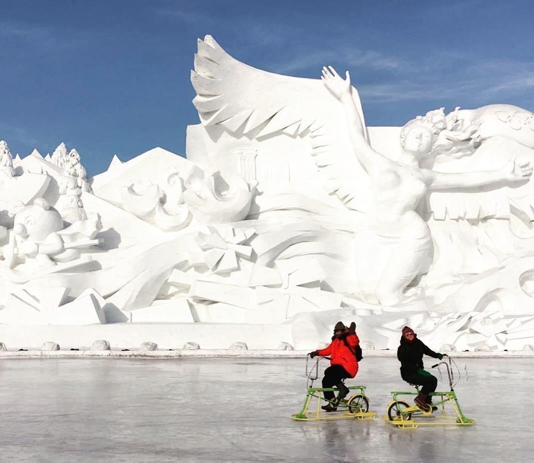 Фото: Фестиваль льда и снега в Харбине
