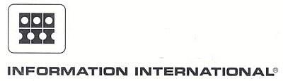 Логотип студии Information International Inc. aka Triple-I