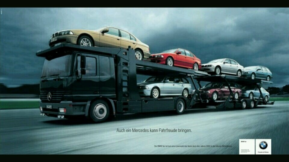 BMW отметило выход на пенсию СЕО Mercedes - Benz