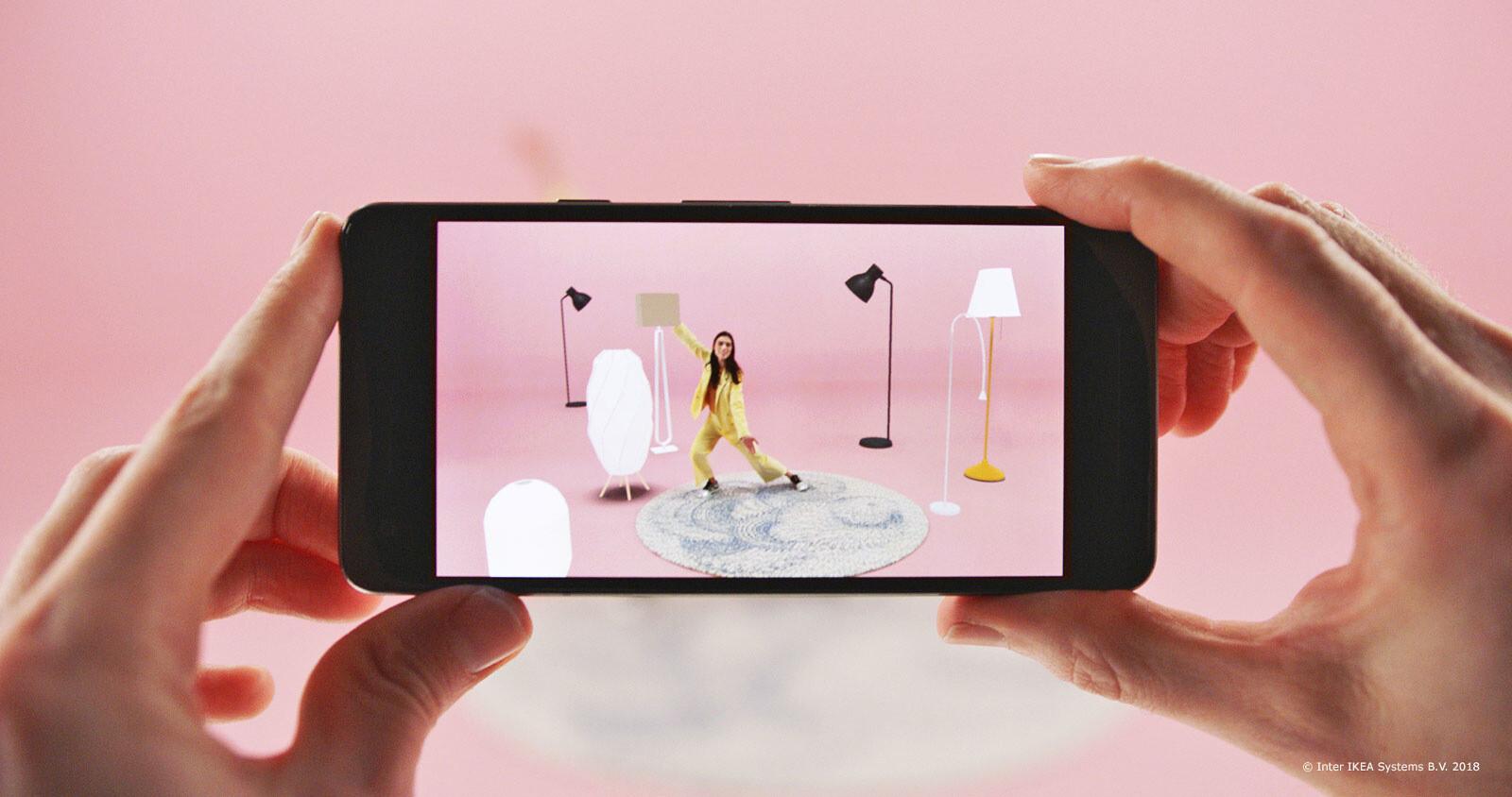 IKEA выпустила приложение для подбора мебели в дополненной реальности Place для Android