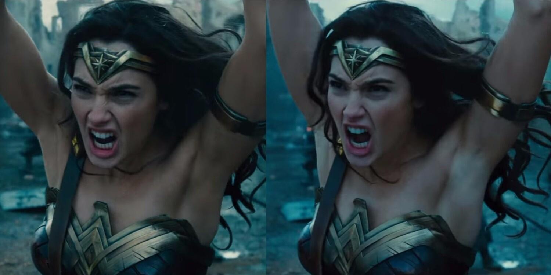 Warner Bros. «покрасила» цвет подмышек Чудо-женщины посл реакции в Сети