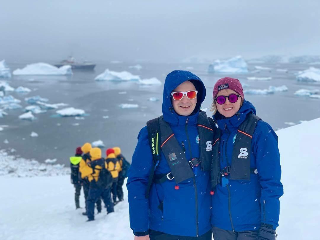 Отдых с детьми в Антарктиду