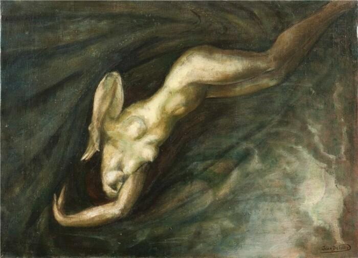 Художник Жан Дельвиль ( 1867—1953)