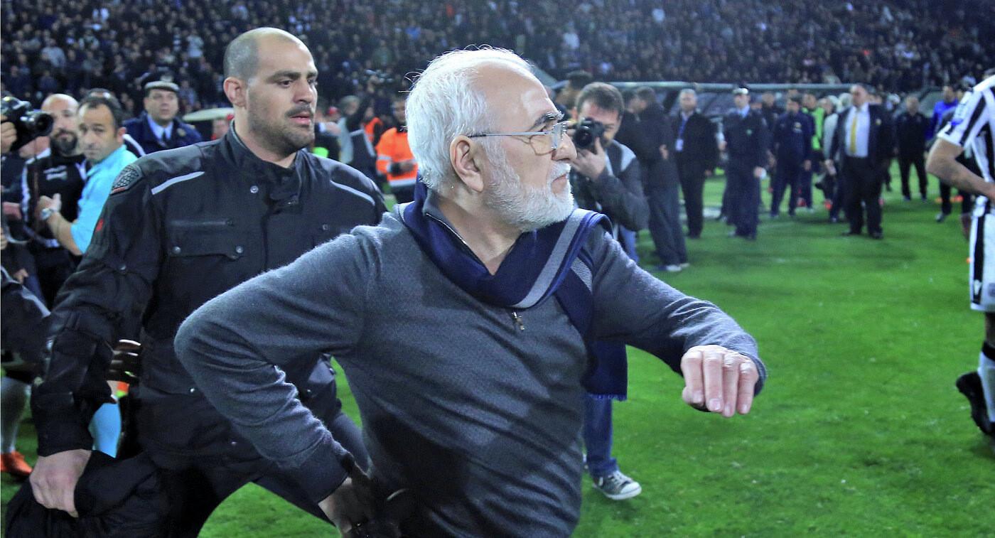 Российский бизнесмен извинился за срыв футбольного матча в Греции