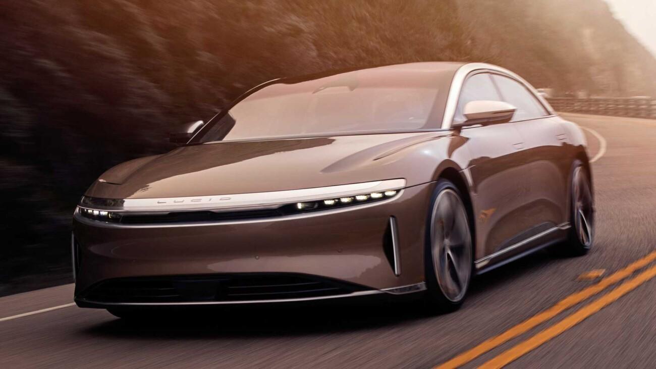 Электромобиль Lucid бывшего сотрудника Tesla опередил Model S по дальности пробега на одном заряде в 1,3 раза