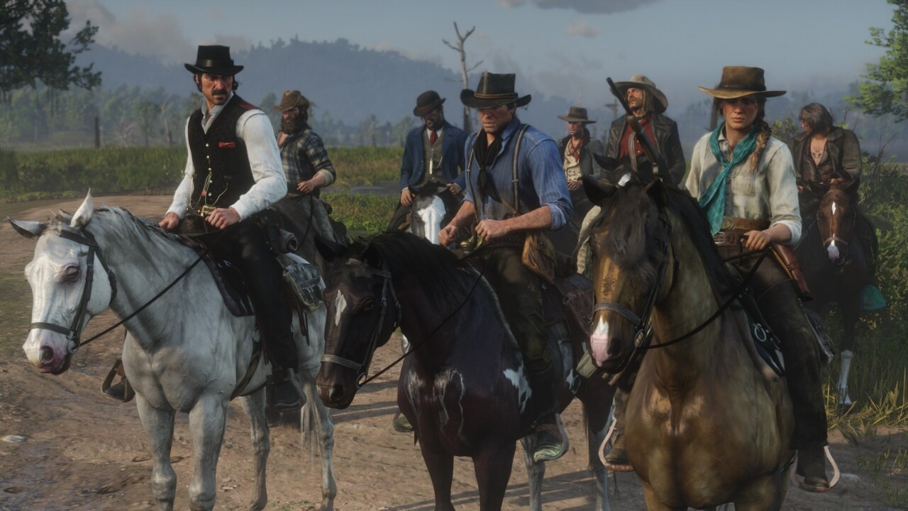 Red Dead Redemption 2 стартовала в британской рознице в два раза лучше оригинала