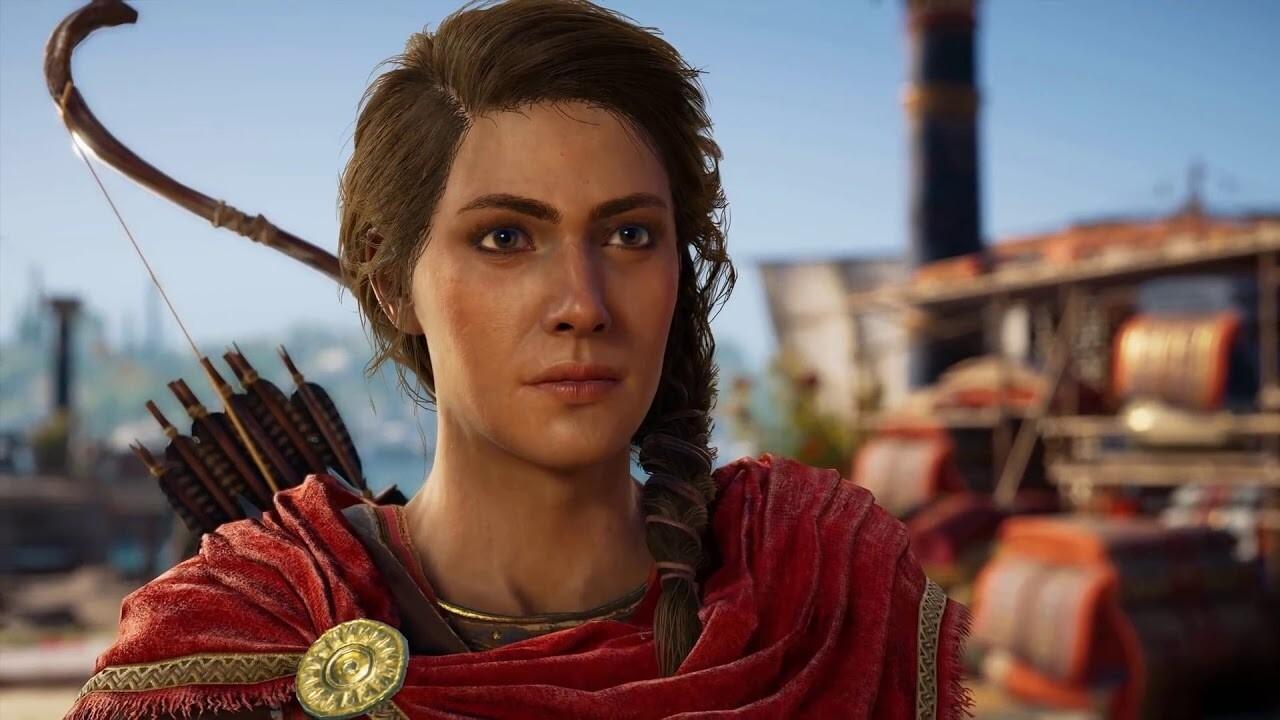 Анимации в Assassin's Creed Odyssey