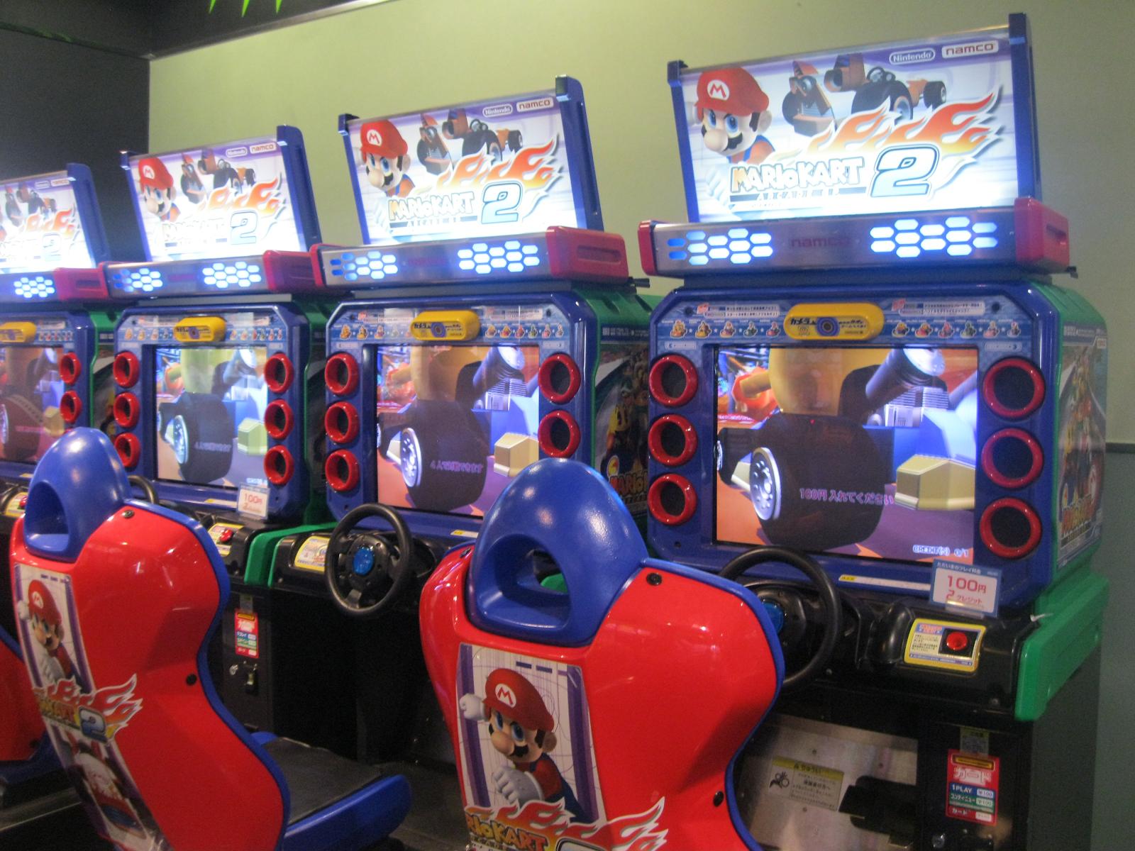 Игровые автоматы детские sega, namco супер марио карт играть