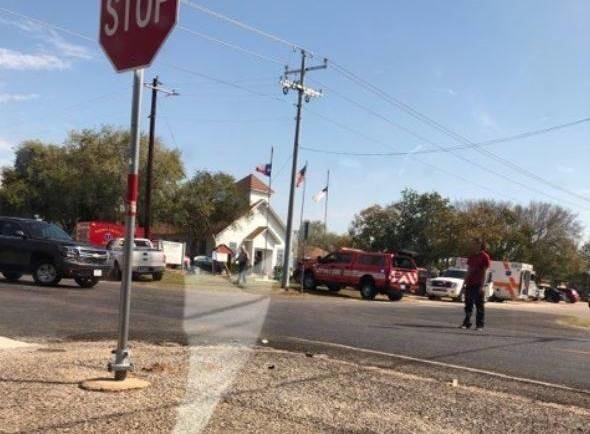 Неизвестный зашёл в техасскую церковь и устроил стрельбу