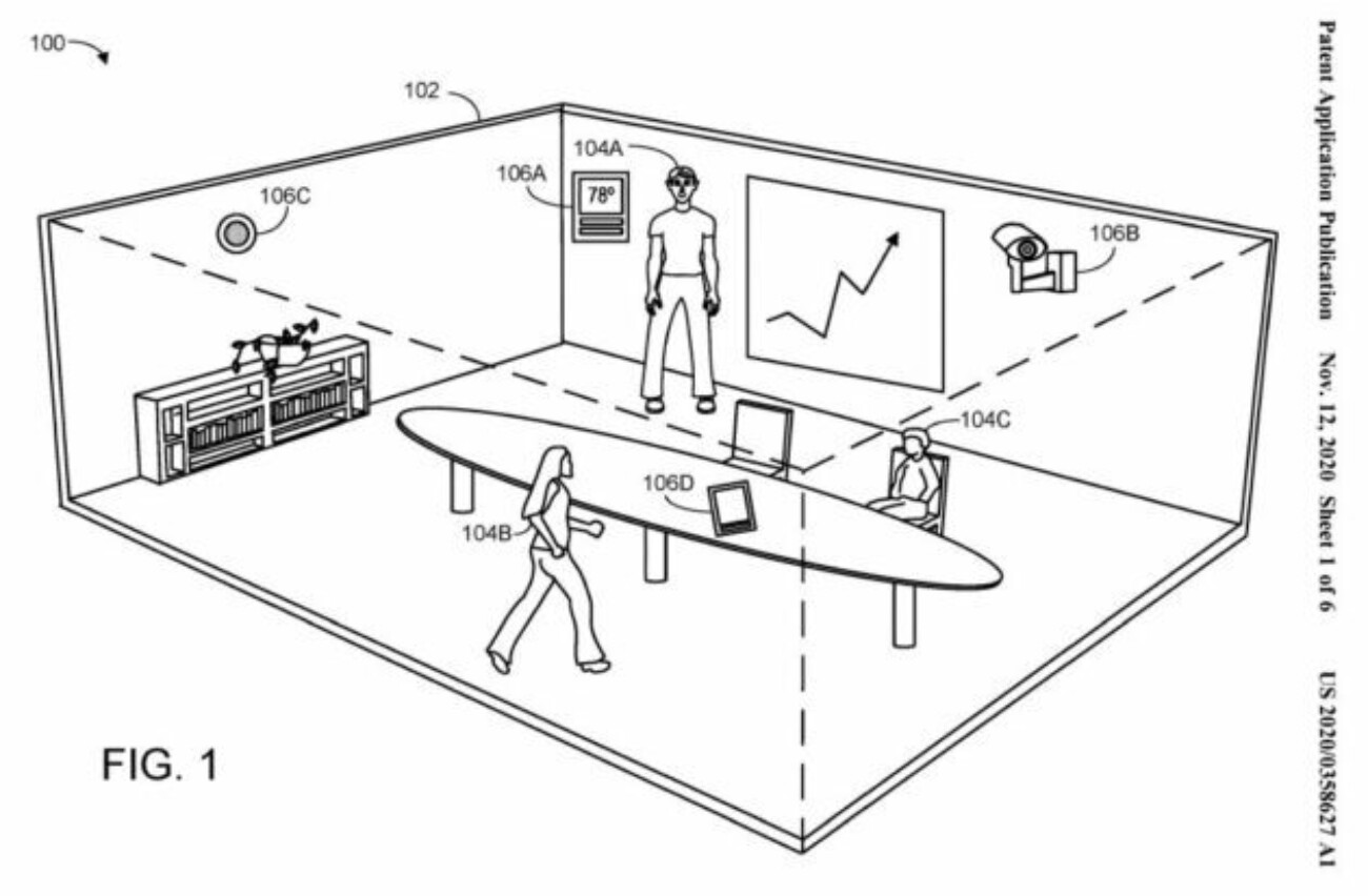 Microsoft собралась запатентовать систему для оценки эффективности совещаний по позам и выражениям лиц участников