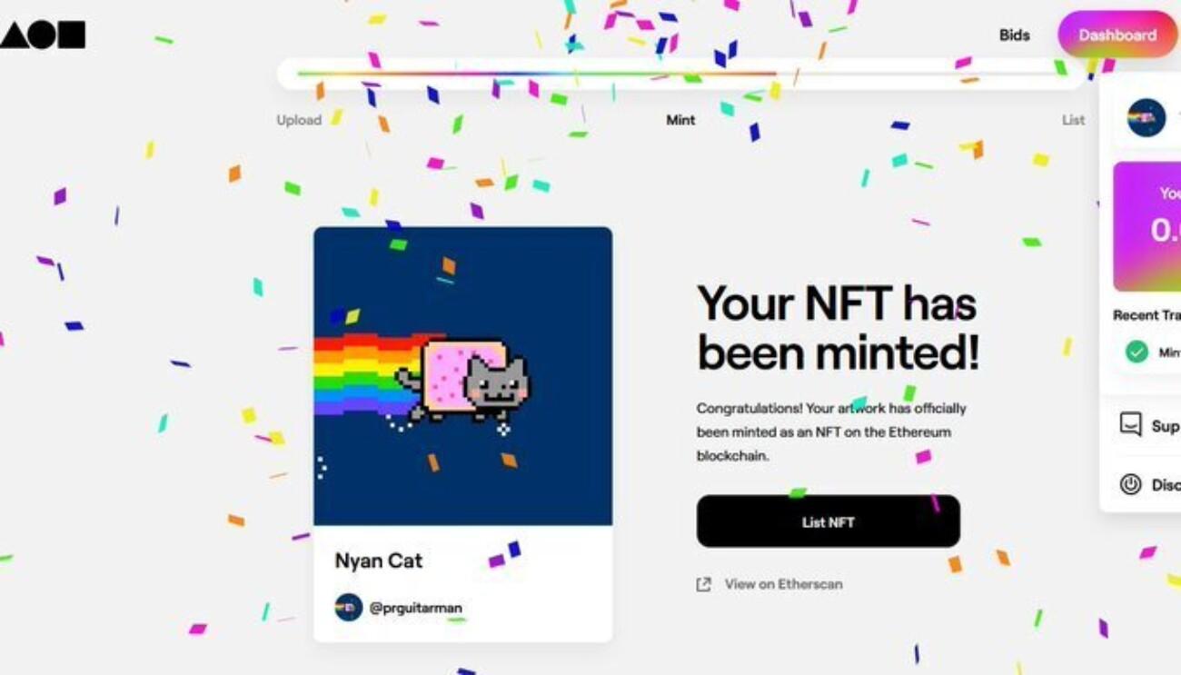 Почему гифку с Nyan Cat купили за полмиллиона долларов, хотя её легко скопировать