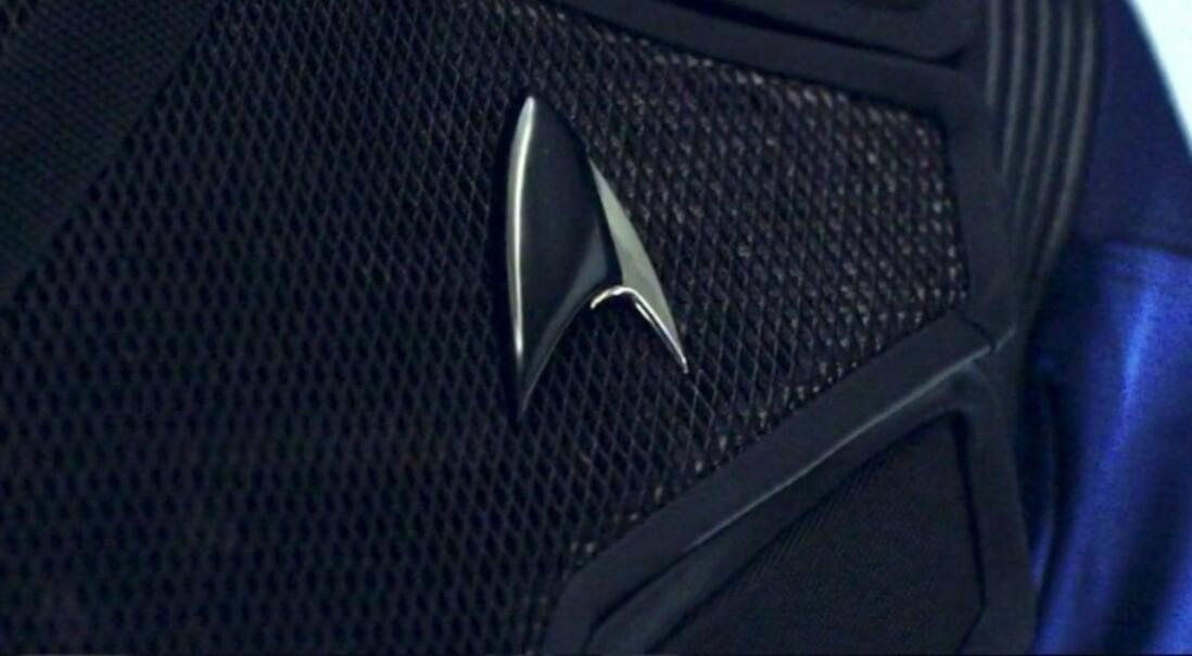 Чёрный значок Секции 31 из Discovery