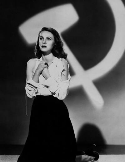 Пропагандистский фильм «Красная угроза» (1949)  формой подражает нуару с той лишь разницей, что там коммунисты являются чистейшим злом, жаждущим погубить народ Америки  и плетущим гнусные интриги