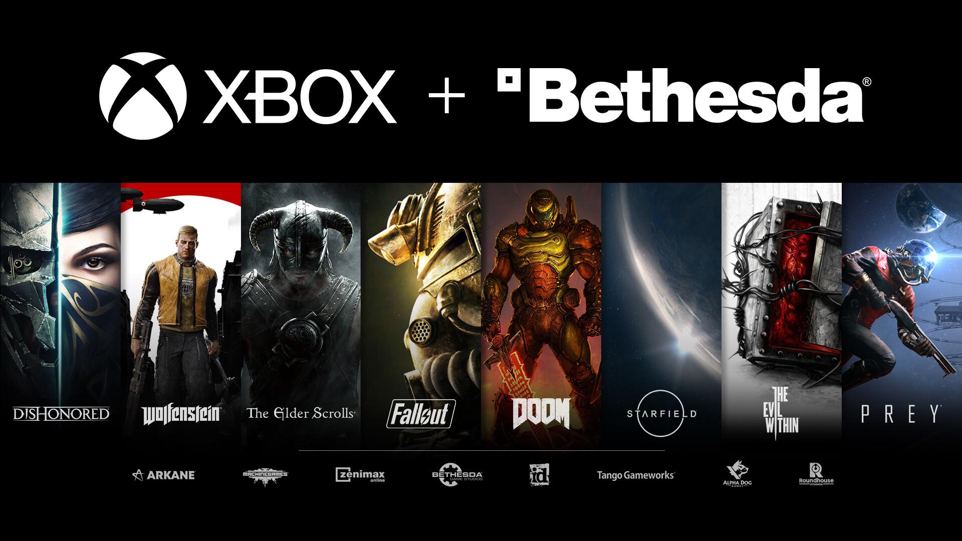 Серии игр, которые будут входить в Xbox GamePass.