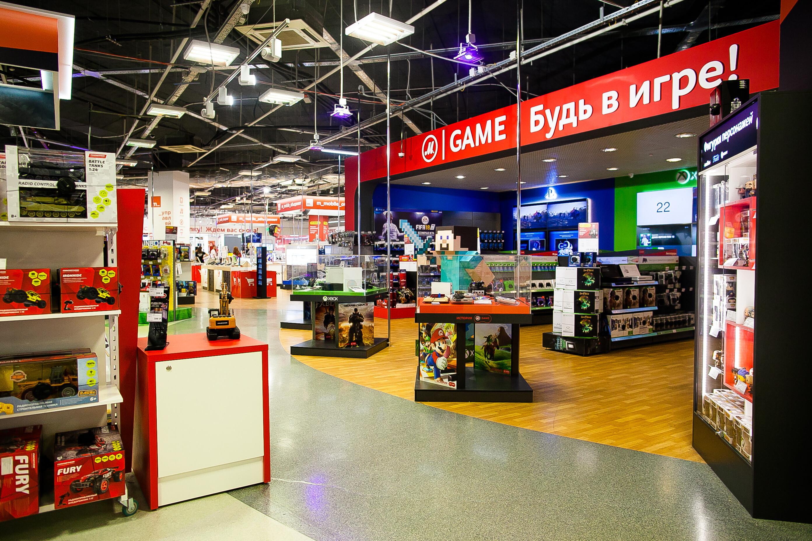 «М.Видео» открыла отделы для геймеров с возможностью тестировать игры и консоли