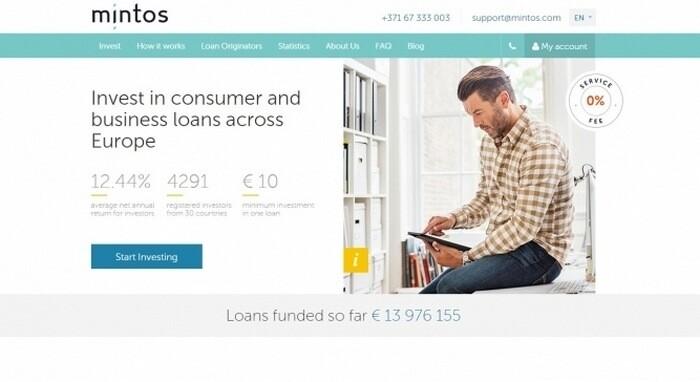 Стартап дня: сервис для инвестирования в микрофинансовые организации Mintos