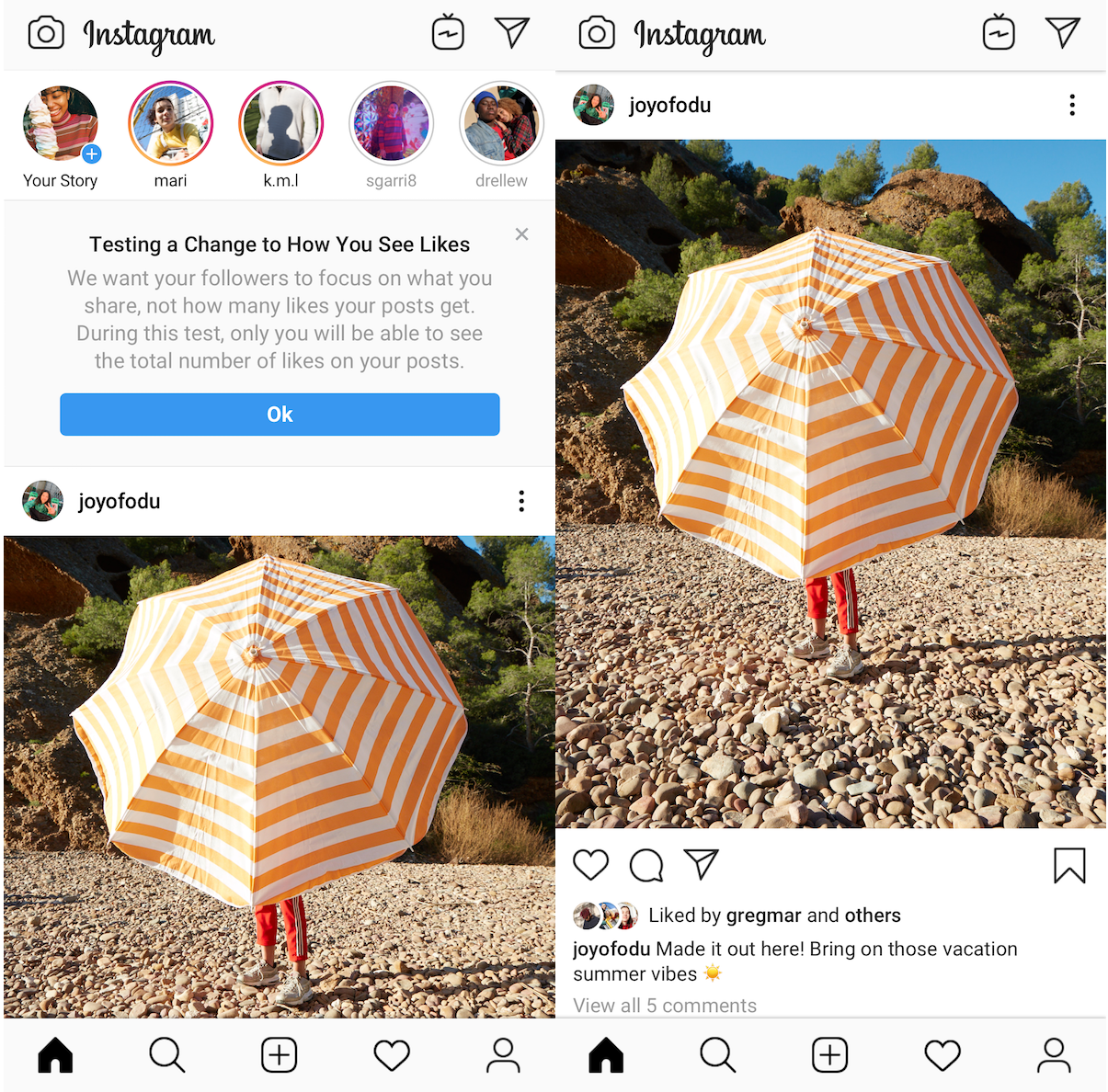 Вот и все! Instagram тестирует отмену лайков