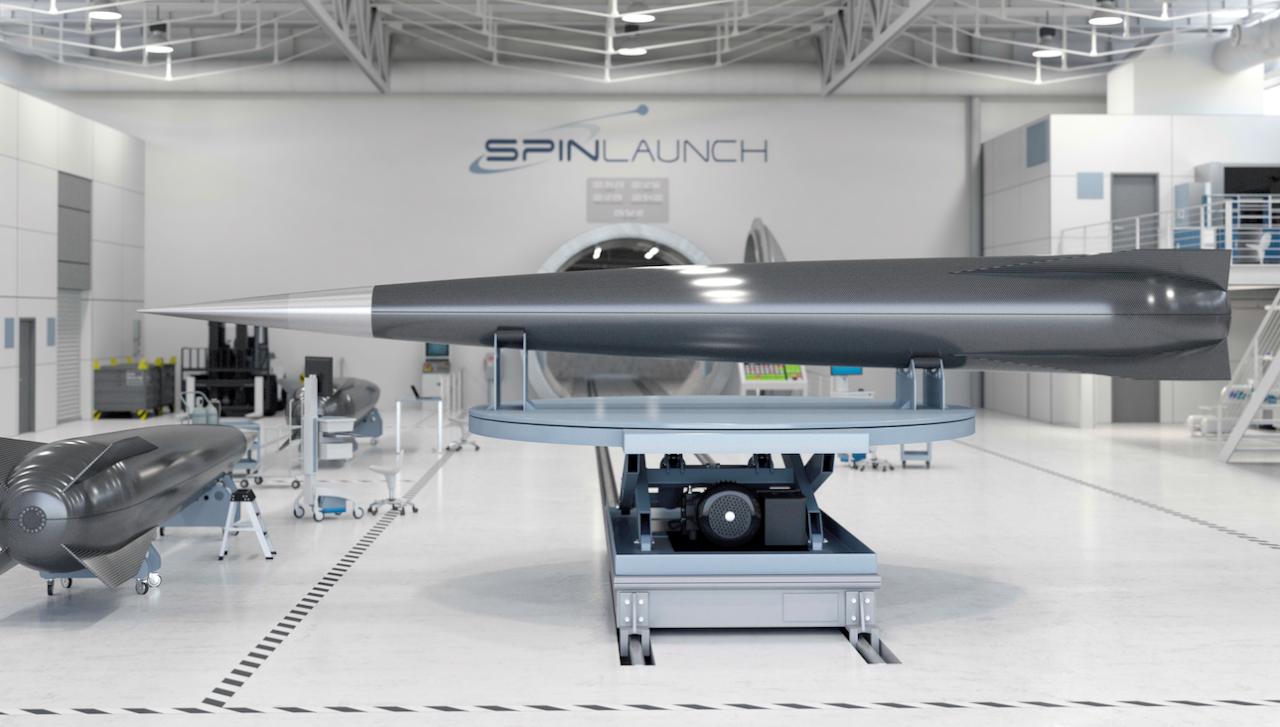 TechCrunch: американский стартап SpinLaunch привлёк $30 млн на создание катапульты для запуска грузов в космос