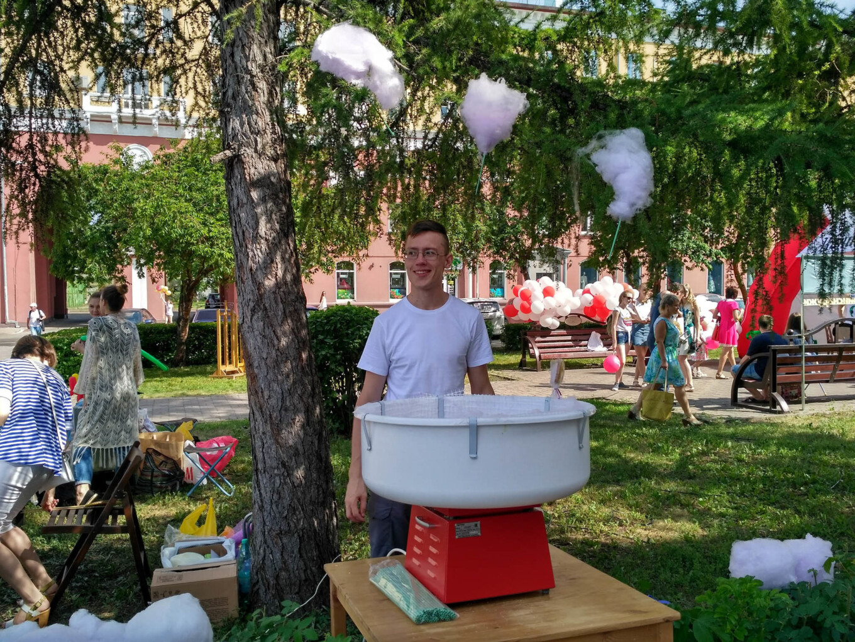 Я на фестивале в Кемерове, 2017 год