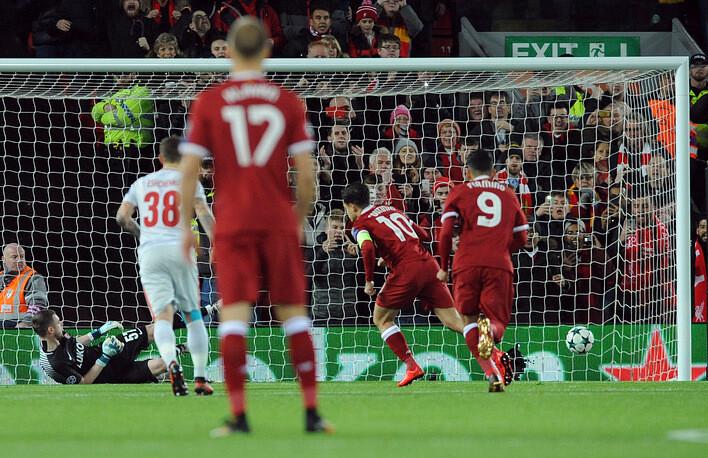 «Спартак» пропустил семь голов от «Ливерпуля» и выбыл из Лиги чемпионов