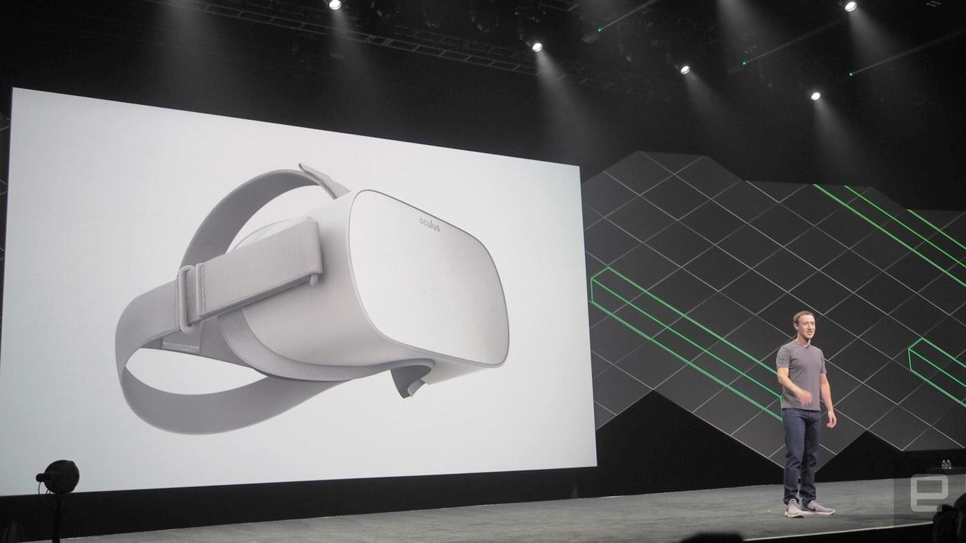 Oculus представила беспроводную VR-гарнитуру, работающую без телефона и компьютера