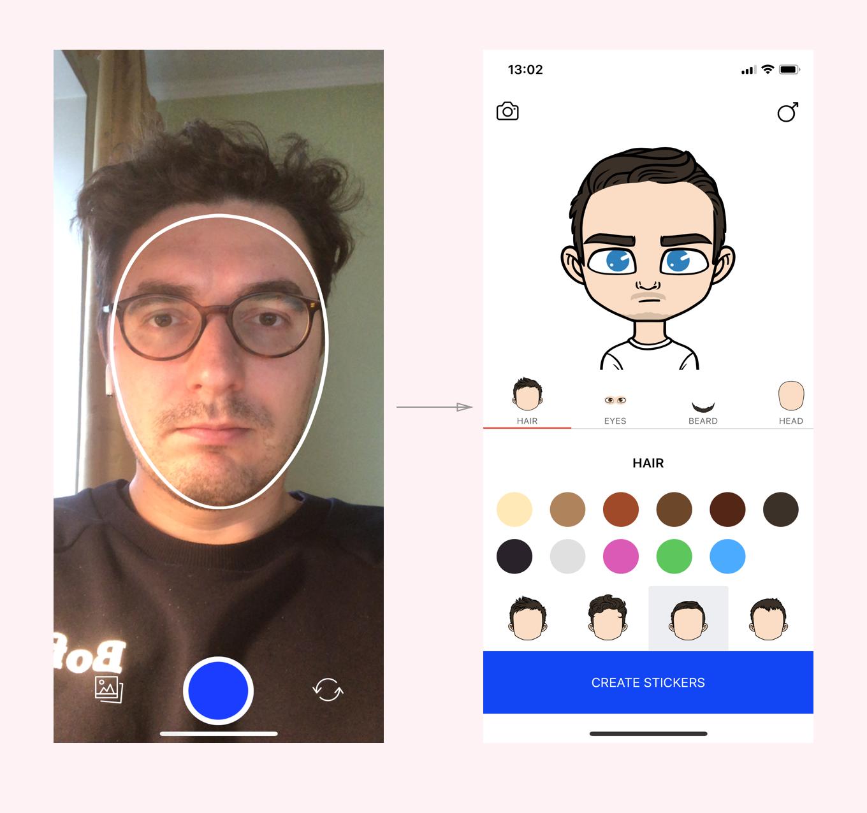 Разработчик «ВКонтакте» запустил приложение Stickerface для генерации стикеров из фотографий пользователя