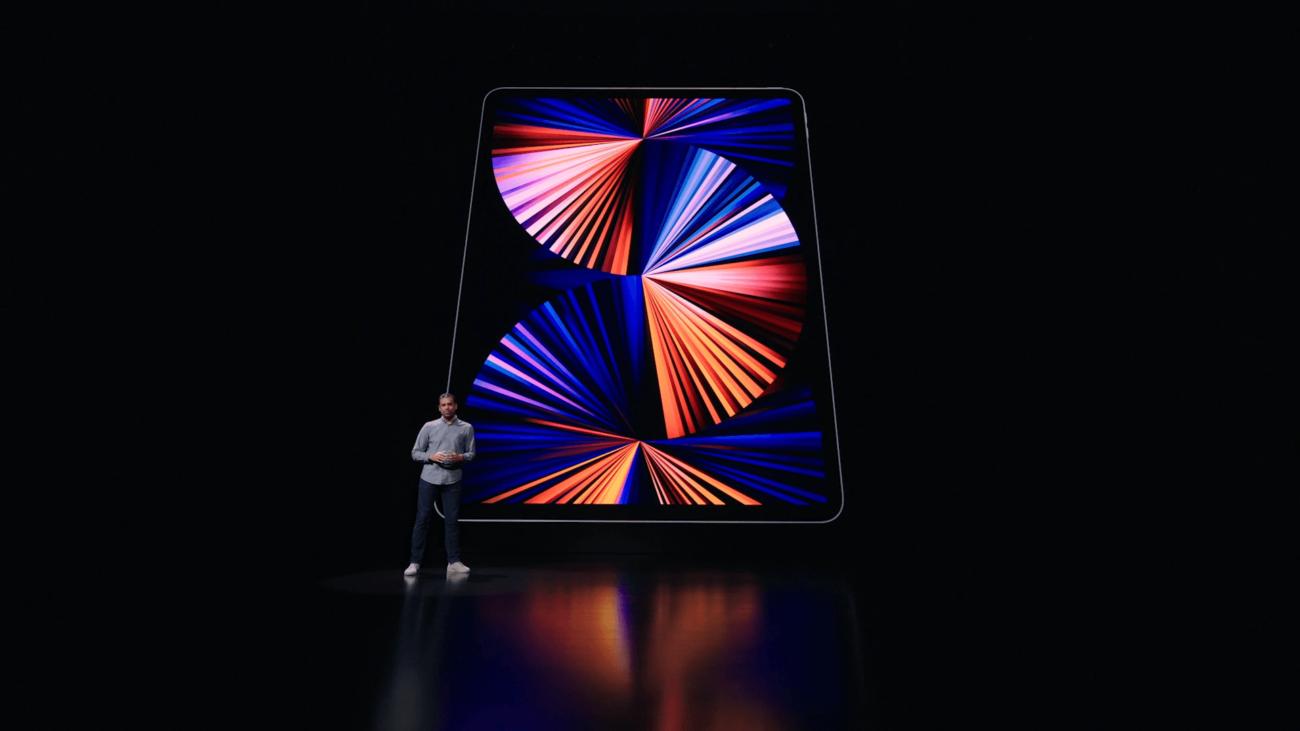 Apple представила iPad Pro на чипе M1 — он стоит в MacBook и новых iMac