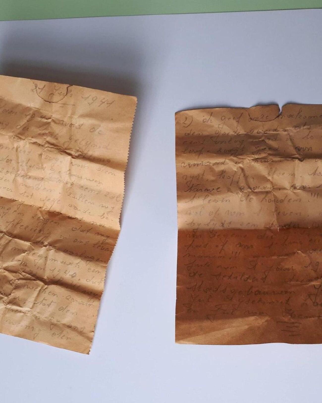 В бельгийской церкви нашли письмо 1941 года с советом наслаждаться жизнью и делать запасы на случай войны