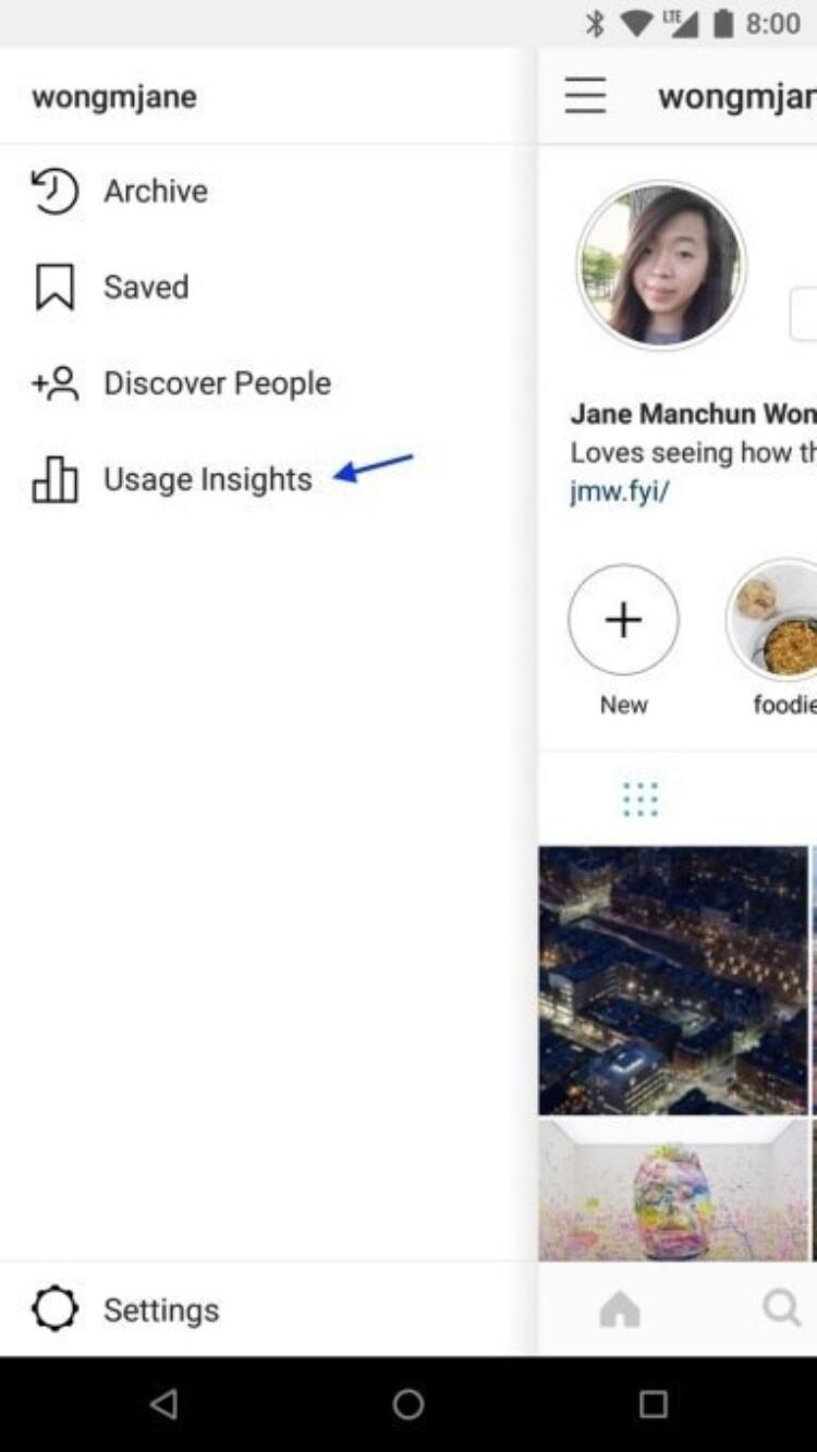 Instagram подскажет вам, сколько времени вы на него тратите