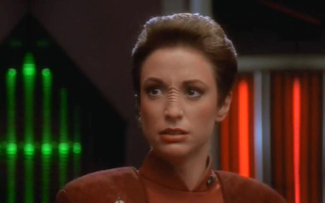 Кира Нерис, полковник баджорского сопротивления в Deep Space Nine