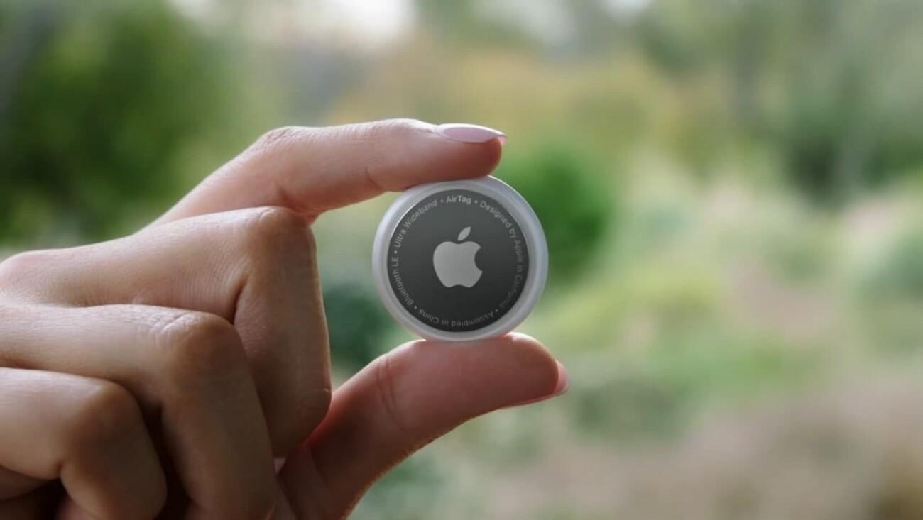 Apple представила маячки AirTag для отслеживания вещей