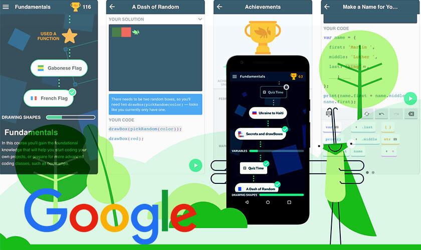 Google выпустила приложение-игру для обучения программированию Grasshopper