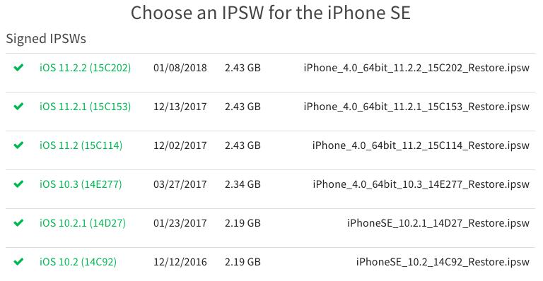 Apple начала подписывать старые iOS — можно откатиться на версию постарше