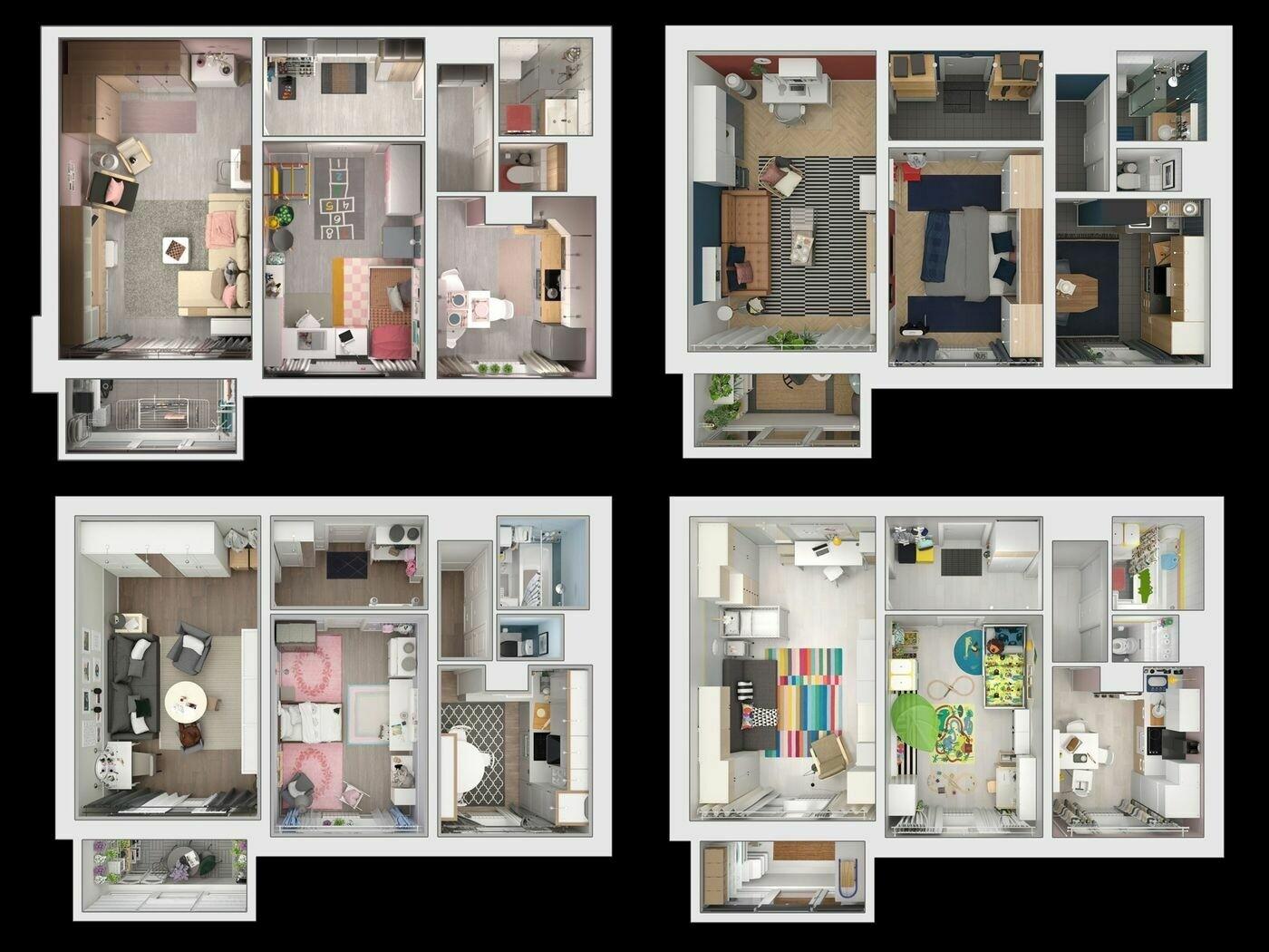IKEA: бесплатная библиотека дизайн-проектов для квартир в «хрущёвках» помогла увеличить продажи в России на 17%