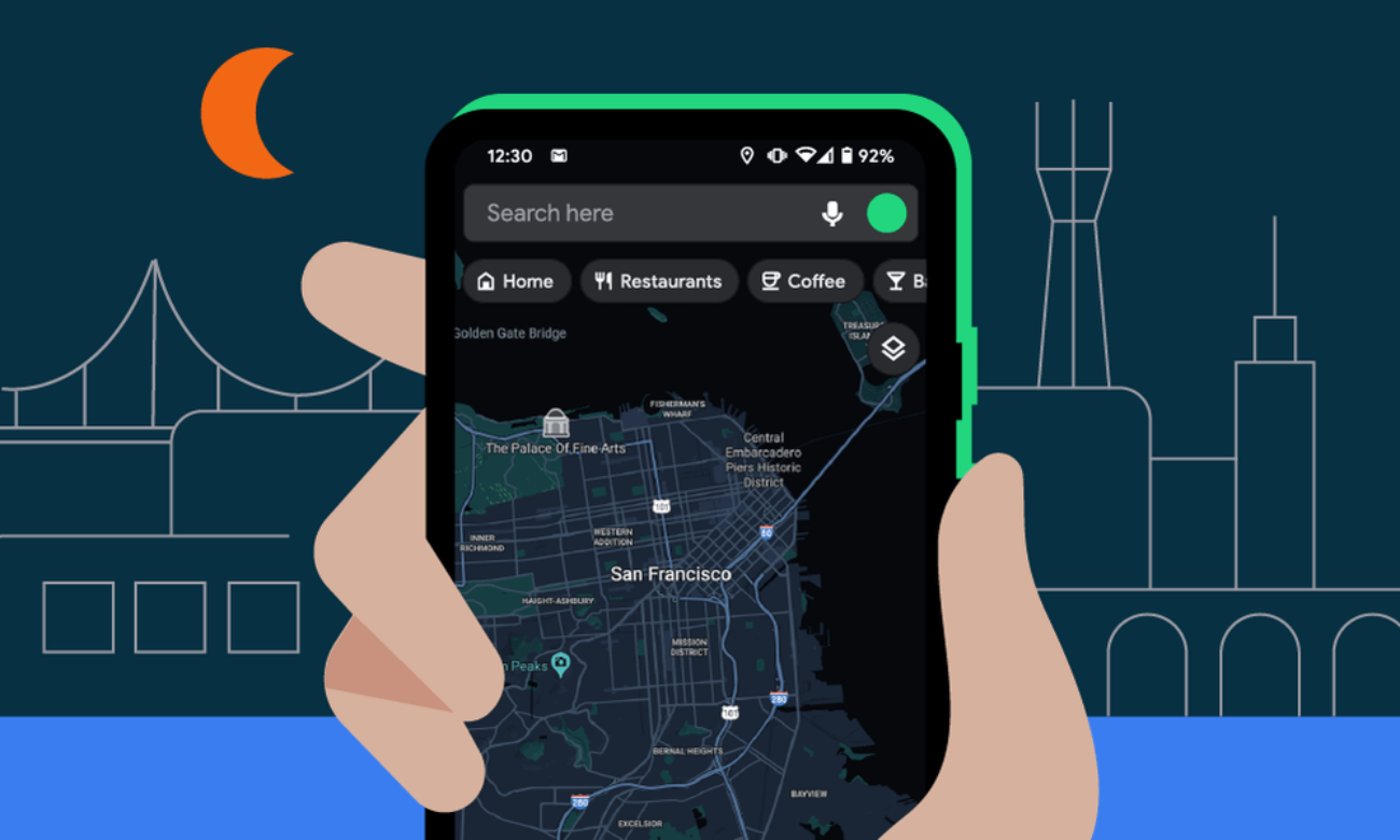 Планирование сообщений, тёмные Карты и проверка паролей: Google рассказала о функциях, которые появятся в Android