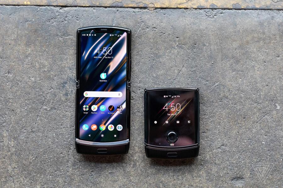 Motorola представила смартфон раскладушку Razr с гибким