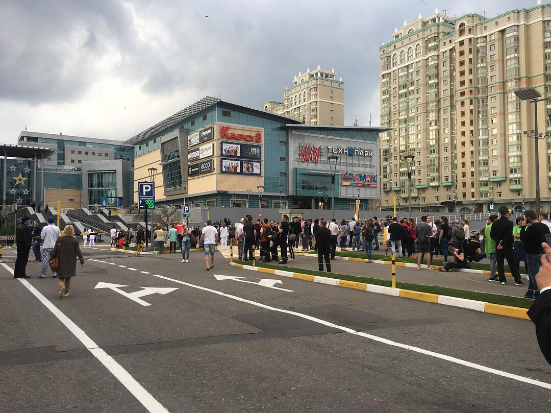 Федеральные каналы проигнорировали новость о массовых эвакуациях по всей России