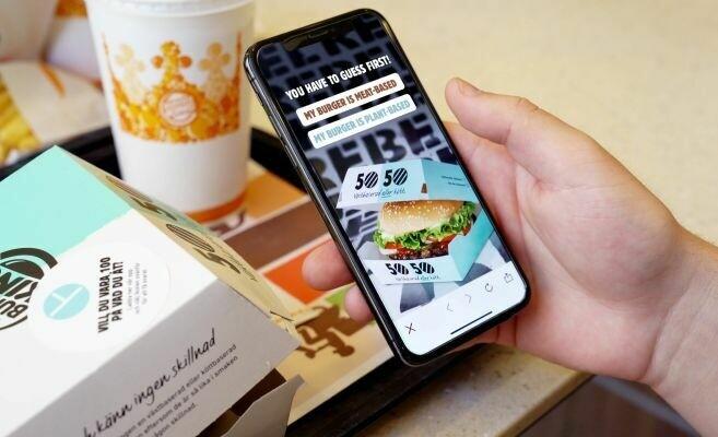 В сети Burger King посетителям предложили интересное задание