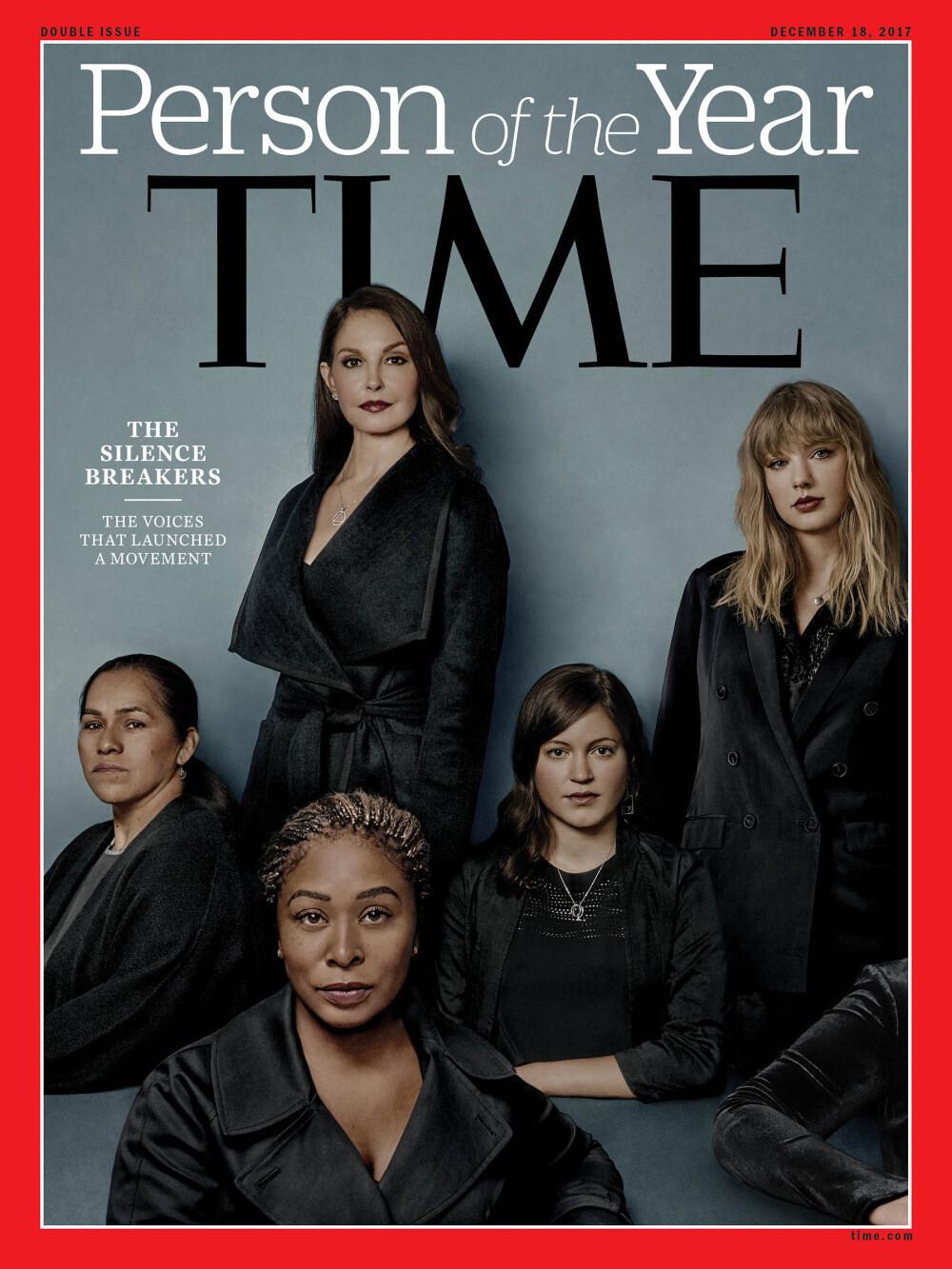 Time выбрал человеком года «нарушителя молчания» о домогательствах