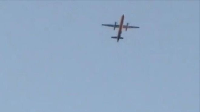 Сотрудник аэропорта Сиэтла угнал пассажирский самолёт. Лайнер упал в море