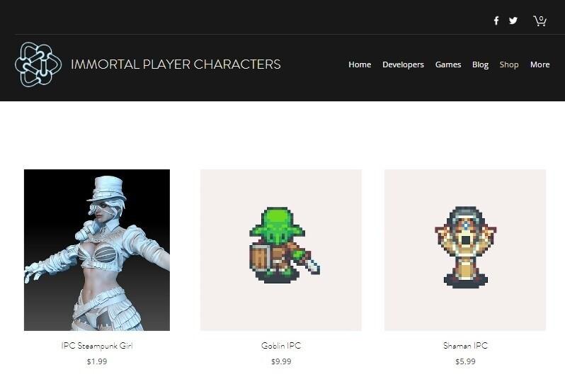 Стартап дня: блокчейн-платформа для «перемещения» персонажей в другие игры Immortal Player Characters