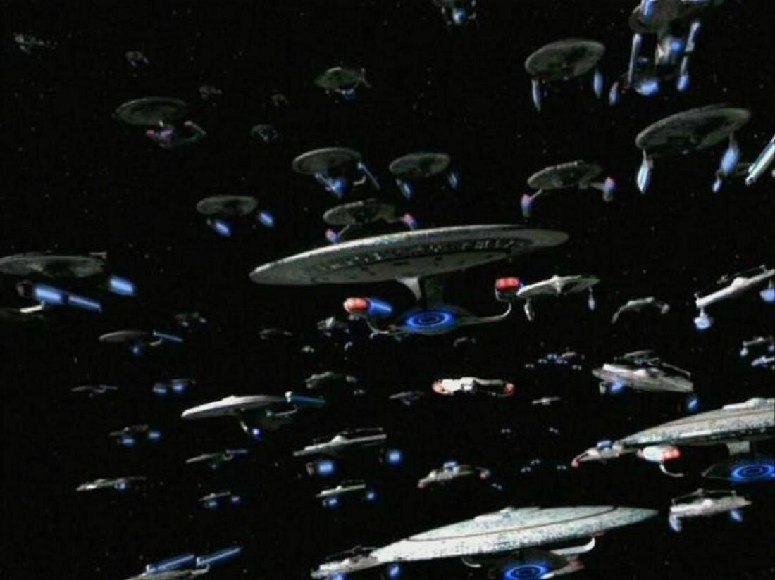 Флот Федерации на войне