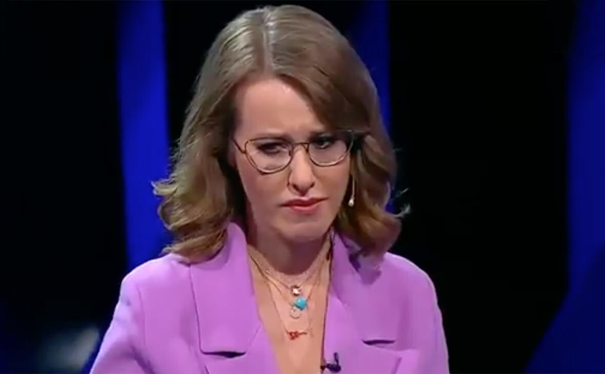 ЦИК о доведении Собчак до слёз: каналы сами определяют формат дебатов