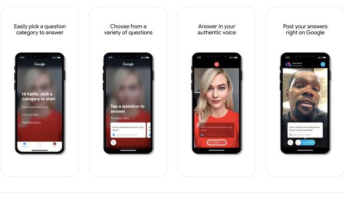 Google запустила видеосервис Cameos для ответов знаменитостей на вопросы пользователей