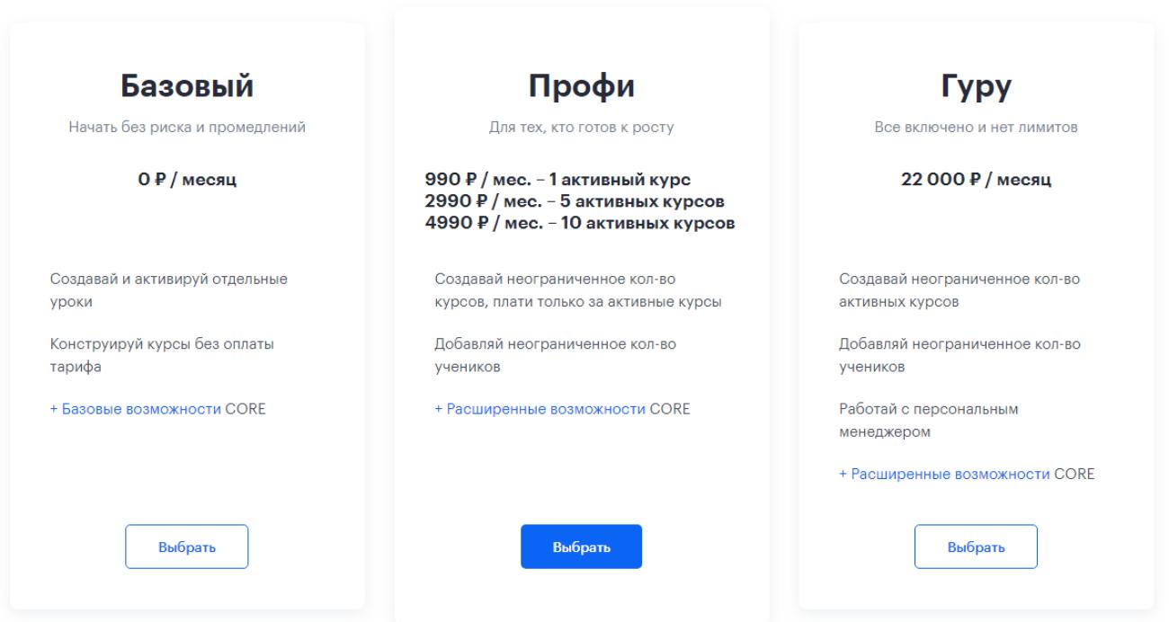 Российский стартап-конструктор онлайн-курсов Core привлёк $3 млн от Humantek Group в обмен на контроль в компании