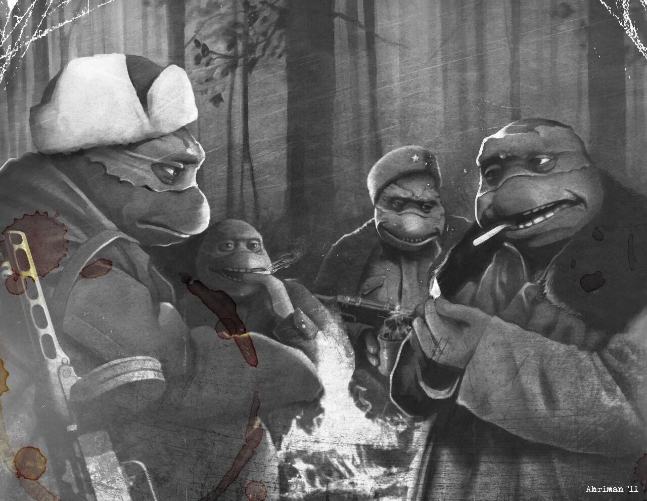 Галочка?! Ты сейчас упадешь! Российский художник превратил советские фильмы в японское анимэ. | Изображение 3